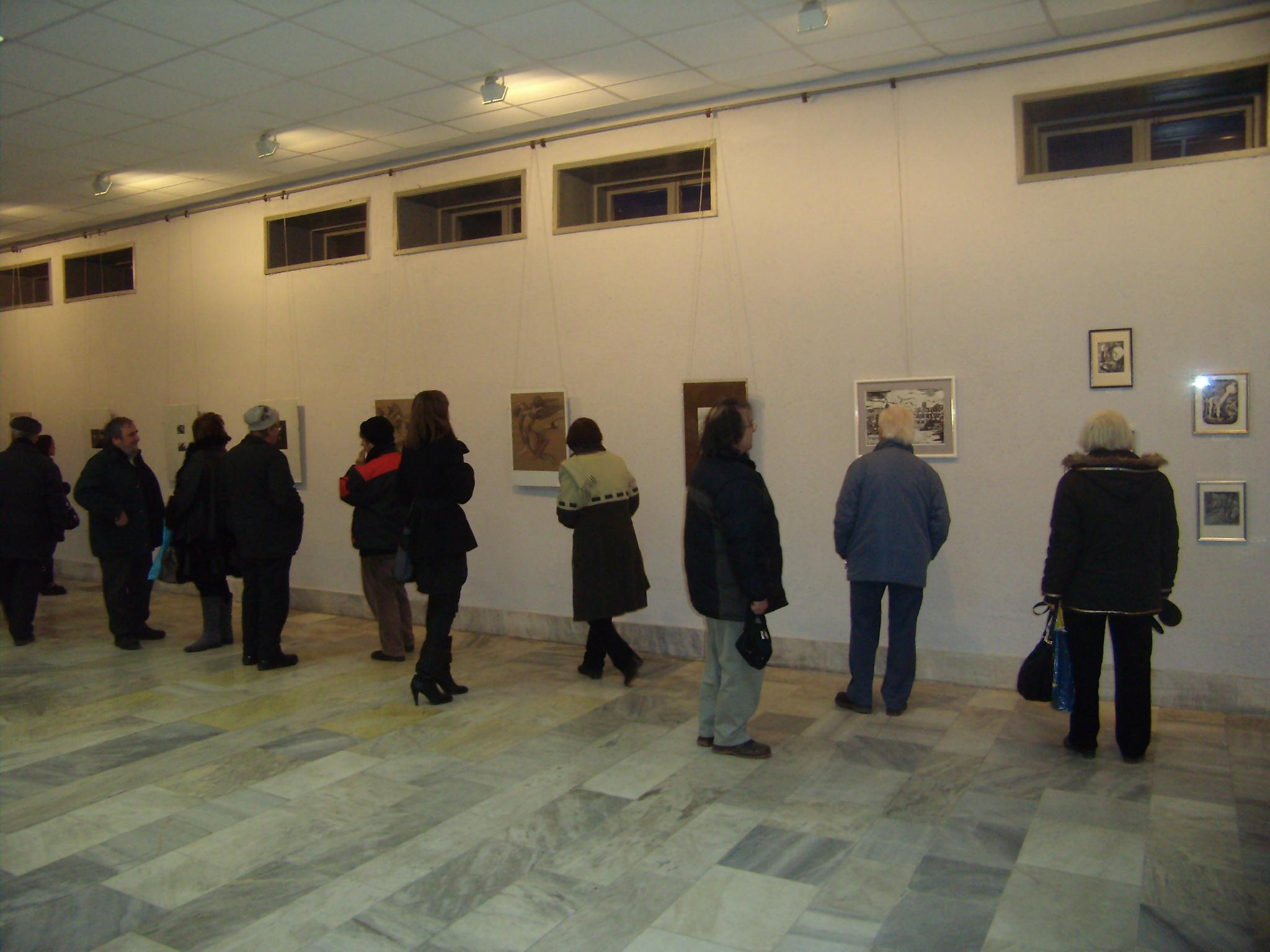 Графики и рисунки на горнооряховски художници показва Градската художествена галерия