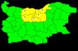 Отново жълт код за гръмотевична дейност за област Велико Търново