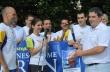 Горна Оряховица посрещна международната щафета Пробег за мир