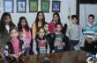 Сурвакарчета гостуваха в Общината в навечерието на празника Банго Васил