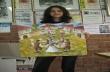 Картина на горнооряховска ученичка отпътува за детска международна изложба в Киев