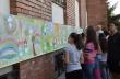 22-метрова рисунка на горнооряховски деца украси сградата на Младежкия дом