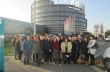 """Ученици от СУ """"Георги Измирлиев"""" дискутираха със свои връстници в Европейския парламент"""