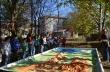 """Релефна карта на България направиха в двора на ОУ """"Елин Пелин"""" в Първомайци"""