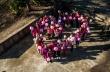 """Ученици и учители от ОУ """"Св. Паисий Хилендарски"""" облякоха днес розови фланелки"""