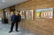 Младият художник Адам Фекете подреди изложба в Младежкия дом в Горна Оряховица