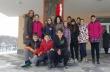 """Голяма мартеница украси сградата на горнооряховското ОУ """"Св. св. Кирил и Методий"""""""